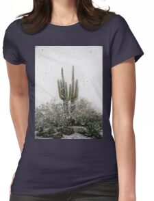Arizona Snowstorm Womens Fitted T-Shirt