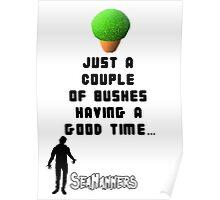 Seananners - Bush Poster