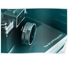 Vintage Nikon Camera Photography Poster