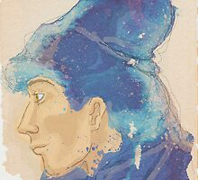 Into the blue  by Alma Perissinotti