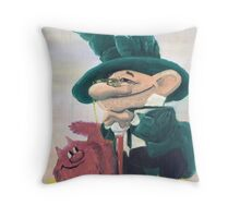 Two comrades Throw Pillow