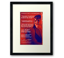 American Mary, Red, White & Blue Style Poster Framed Print