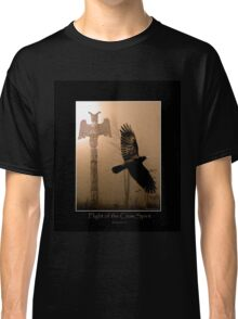 """Flight of the Crow Spirit"" Classic T-Shirt"