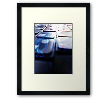 ©HS The Key Board IA Framed Print