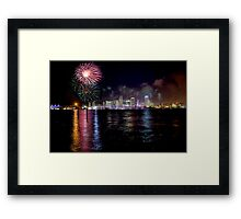4-th of July Framed Print