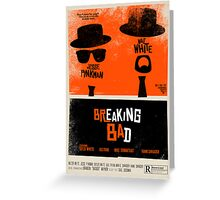Breaking Blues: A Blues Brothers parody poster Greeting Card