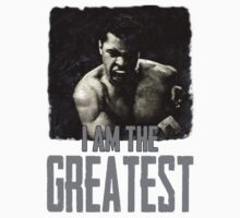 Muhammad Ali I Am The Greatest by printproxy