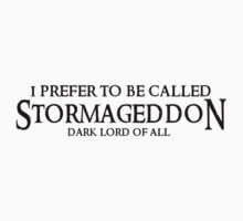 I am Stormageddon! by kayllisti
