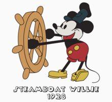 Steamboat Willie (color) by SerjKazter