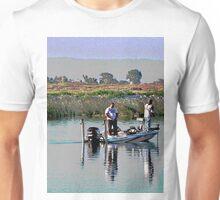 Delta Bass Boat Fish'n Unisex T-Shirt