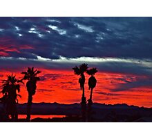 New Year Sunset Photographic Print