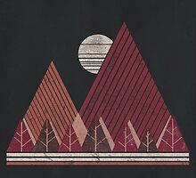 Simple Landscape (dark version) by ChunkyDesign
