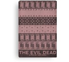 The Evil Dead (1981) Poster Canvas Print