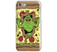 Slimer Loves Pizza iPhone Case/Skin