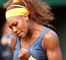 Serena Williams by Srdjan Petrovic