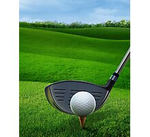 Golf Golfing Photographic Print