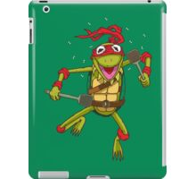 Teenage Muppet Ninja Puppet iPad Case/Skin