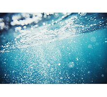 Under water Photographic Print