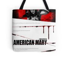 American Mary Audition Style Poster Tote Bag