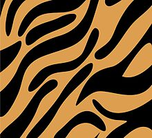 Tiger pattern by Ana Marques