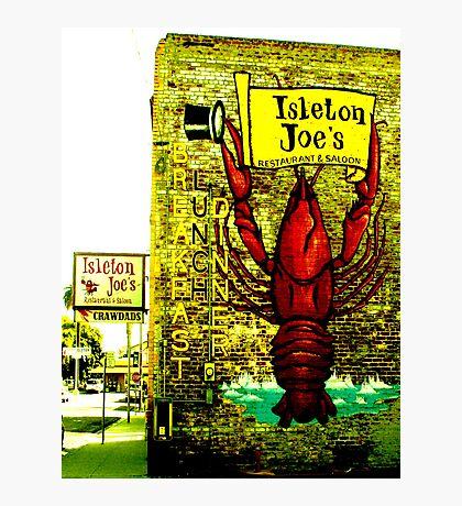 Isleton Joe's Restaurant & Saloon Photographic Print