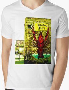 Isleton Joe's Restaurant & Saloon Mens V-Neck T-Shirt