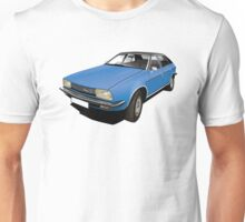 Austin Morris Princess ADO71 illustration blue Unisex T-Shirt