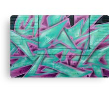 Graffiti close up - Canvas Print