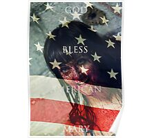 God Bless American Mary Poster Poster