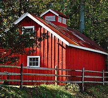 The Red Barn by Daniel B McNeill