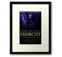 The Exorcist III (Poster 2 Blue) Framed Print