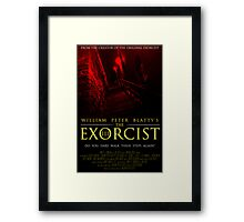 The Exorcist III (Poster 2 Red) Framed Print