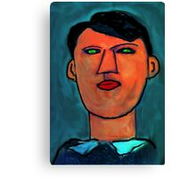 portrait of a young picasso Canvas Print