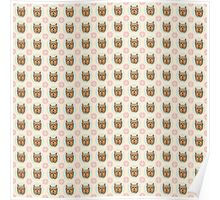 Yorkshire Terrier Pattern Poster