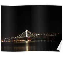 Bay Bridge Eastern Span Poster