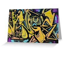 Graffiti As Art - Greeting Card