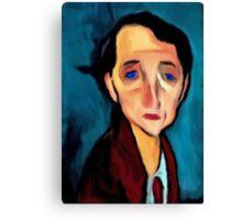 portrait-of-franz-hellens Canvas Print
