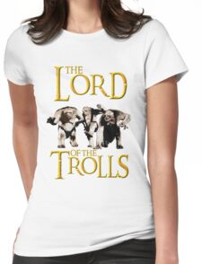 The Lord of the Trolls Womens Fitted T-Shirt