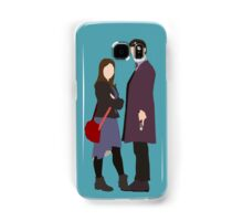 Doctor, Clara Samsung Galaxy Case/Skin