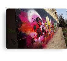"Classic Graffiti on a ""Permission Wall""- Canvas Print"