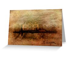 Tennyson's Manor Greeting Card