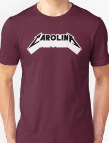 Carolina - Metal Font (Black Text) T-Shirt