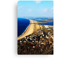 Chesil Beach Canvas Print