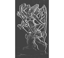 Lord Shiva killing the demon Andhakasura Photographic Print