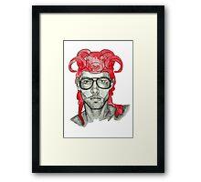 Aries Boy Framed Print