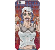 The Battle of the Sports Bra iPhone Case/Skin