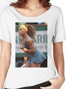 Serena Williams Women's Relaxed Fit T-Shirt
