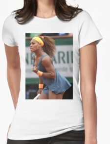 Serena Williams Womens Fitted T-Shirt