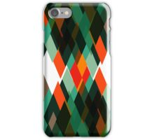 Top of mountains pattern iPhone Case/Skin