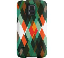 Top of mountains pattern Samsung Galaxy Case/Skin